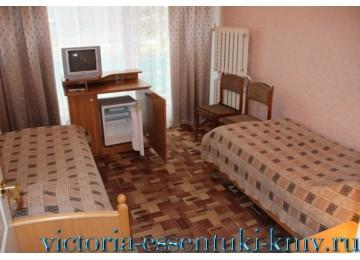 2-местный, корпус №1 и №2 | Проживание | Санаторий «Виктория» г. Ессентуки