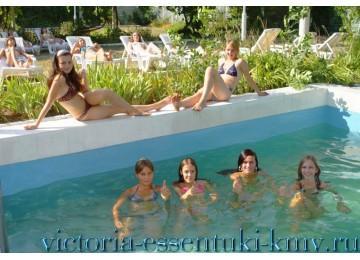Открытый бассейн Санаторий «Виктория» Ессентуки