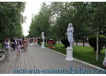 Дендропарк санатория «Виктория» г. Ессентуки
