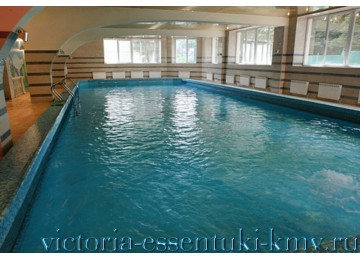 Крытый бассейн. Санаторий Виктория Ессентуки.