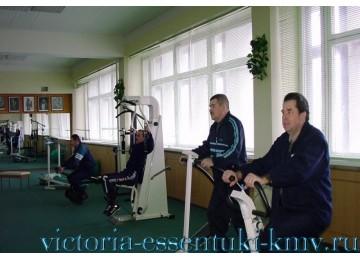Тренажерный зал. Услуги и сервис - Санаторий Виктория (Ессентуки, КМВ)